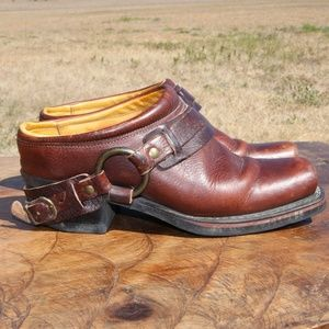 Frye SHORTIE Ankle Boots with Buckle